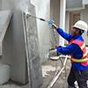 高压水混凝土拉毛机-混凝土墙面拉毛机