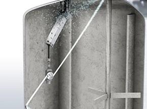 自动化聚乙烯反应釜(聚合釜)高压水清洗技术