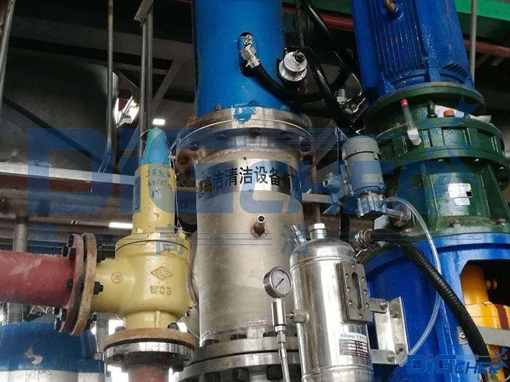 自动化丁苯乳胶反应釜清洗系统