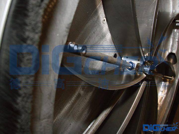 D2700HP手推式高压水道路标线清除机清洗盘
