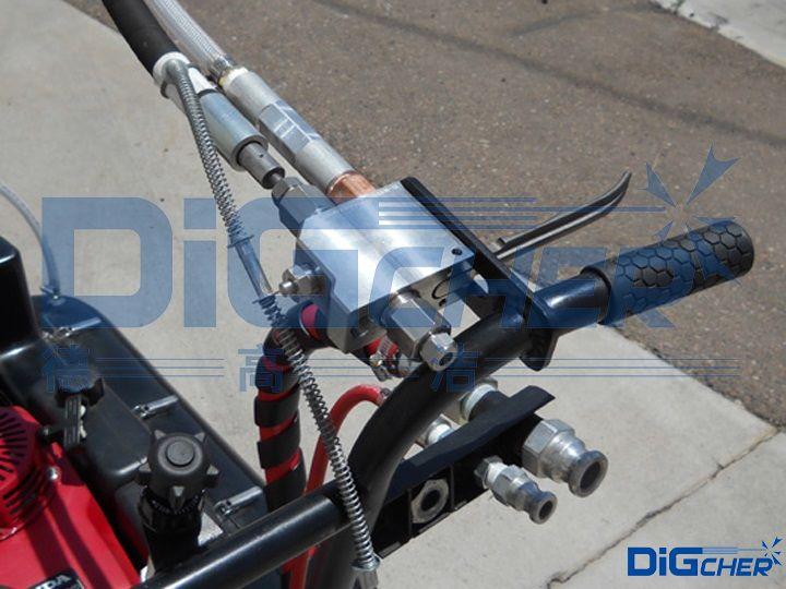 D380HP手推式交通标线清除机手柄