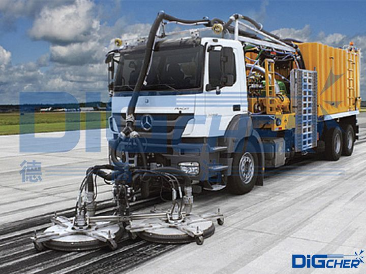 Dstd2700HP标准型机场跑道除胶车