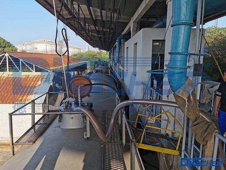 高压水铁路罐车自动清洗系统