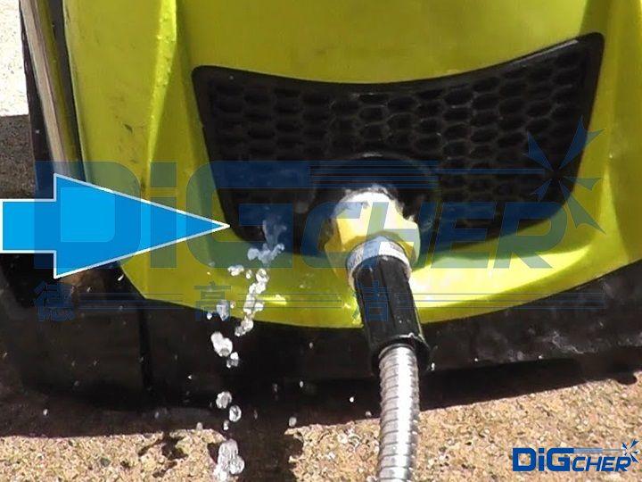 高压清洗机进水腔漏水