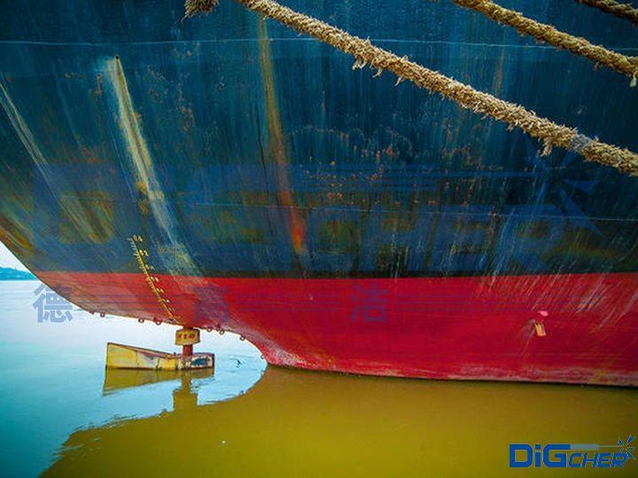 船舶外壁锈蚀