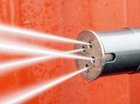 高压清洗机各种类型喷嘴的作用说明