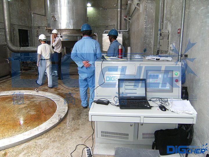 多晶硅还原炉钟罩自动清洗烘干系统控制台