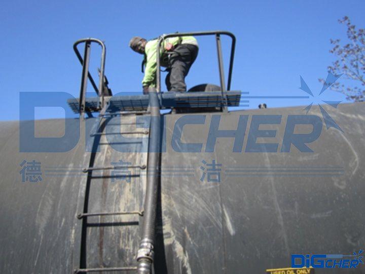 铁路槽车清洗