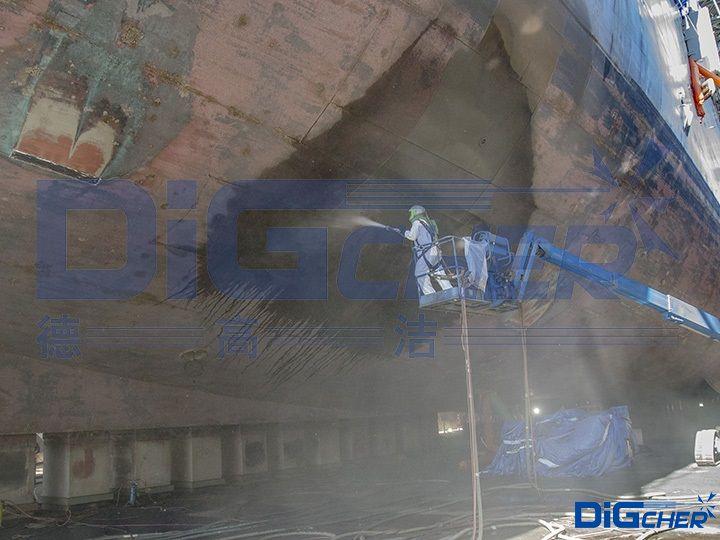 船舶超高压水除锈