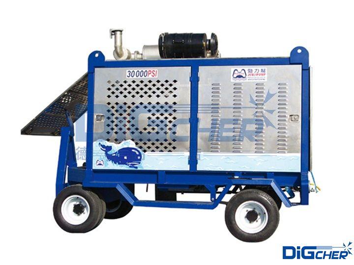德高洁DJ 2000/20EM超高压清洗机