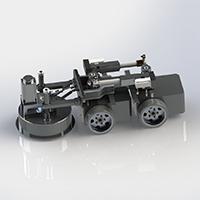 CR4-STP380隧道衬砌台车专用模板清理机器人
