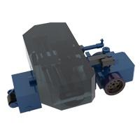 CR4-W风电塔筒清洗机器人-风电外塔筒除锈机器人