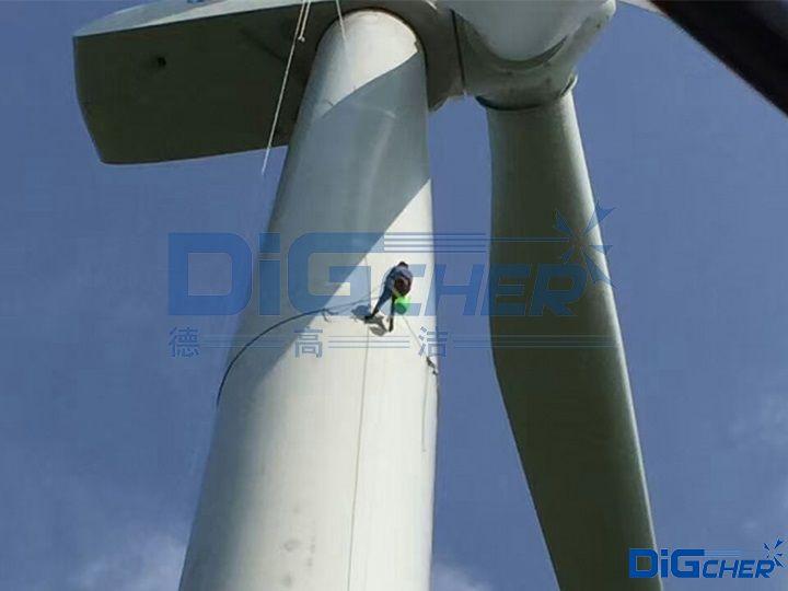 风电塔日常清洗