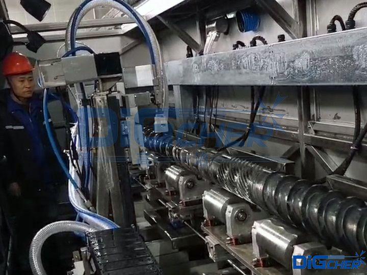注塑机螺杆高压水自动清洗系统